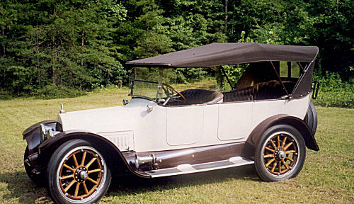 Vintage Vehicles Inc 1916 Cadillac 7 Passenger Touring Car